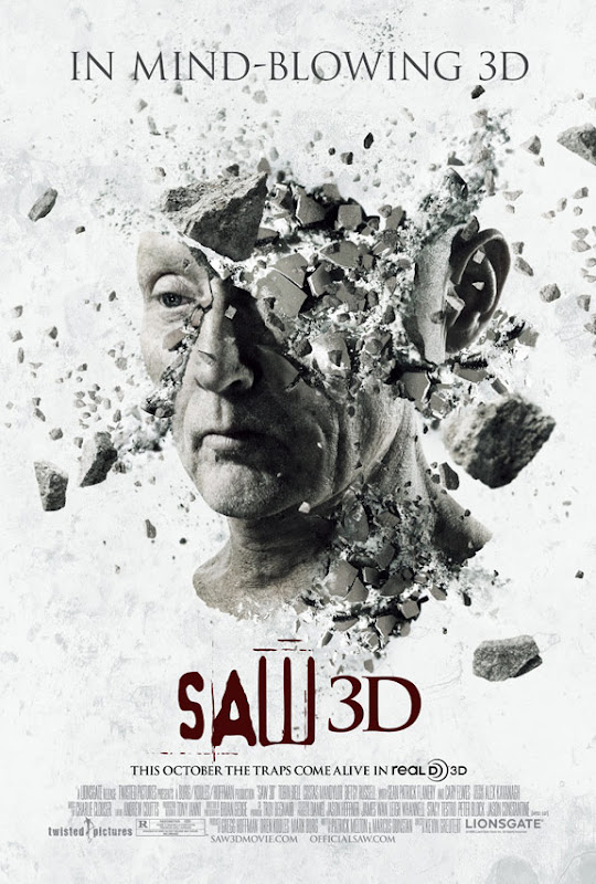 Saw 3D, movie, poster, new