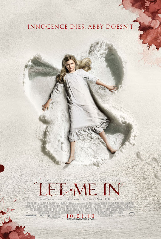Let Me In, movie, poster