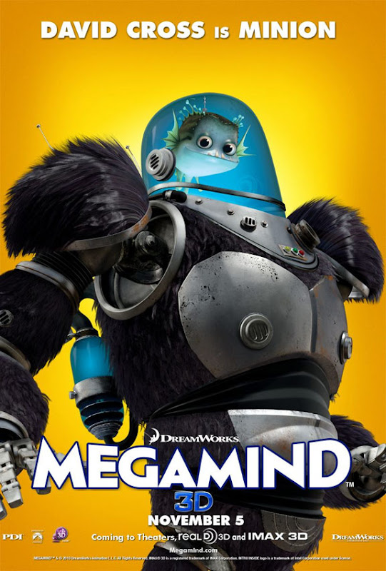 Megamind, new, movie, poster