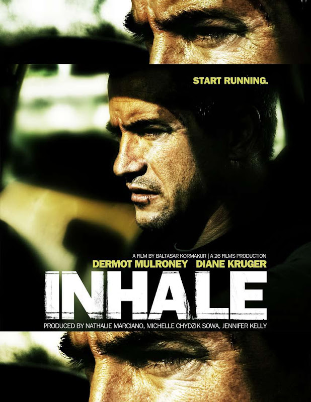 Inhale, movie, poster