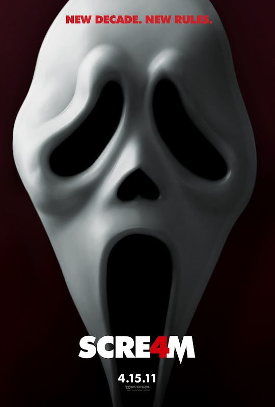 Scream 4, movie, poster