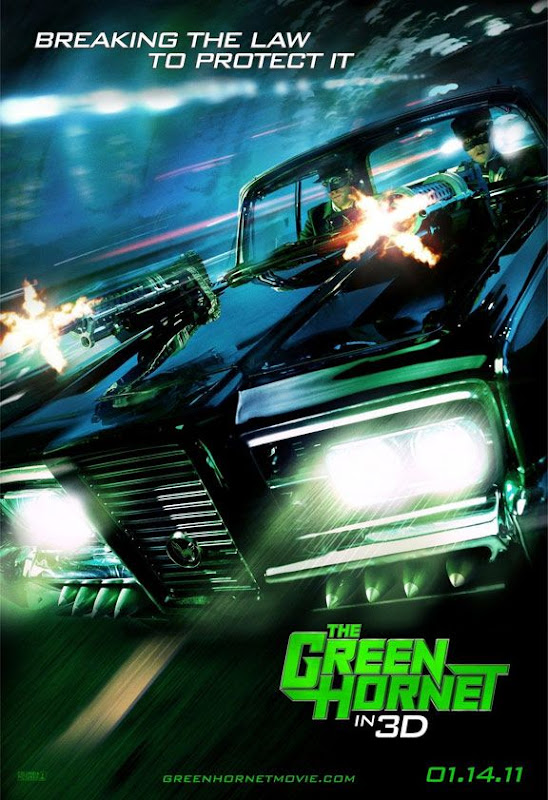 The Green Hornet, movie, Poster, Cameron Dia