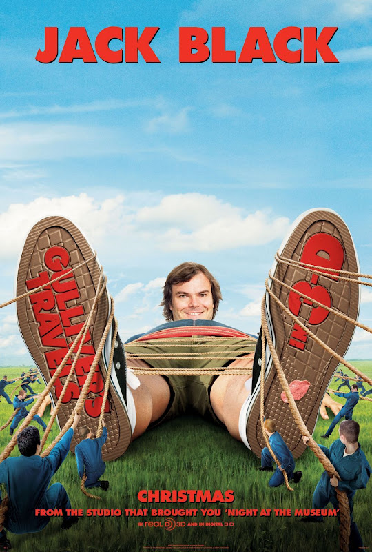 Gulliver's Travels, new, movie, poster