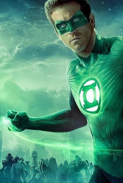 Green Lantern, new, movie, poster