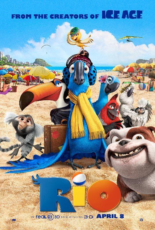 Rio, movie, image, 2011