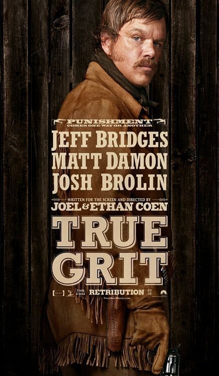 True Grit, movie, poster