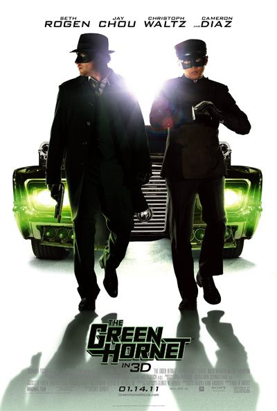 The Green Hornet, Brand, new, movie, Poster