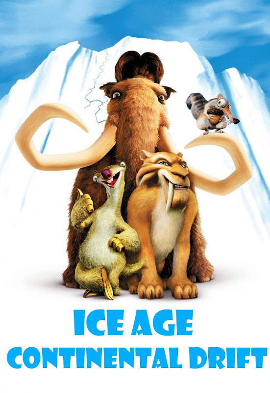 Ice Age 4, Continental Drift, movie, poster