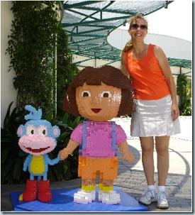 Dora at Legoland