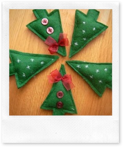 karácsonyfadísz ötlet
