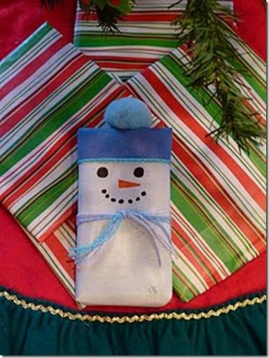 különleges karácsonyi csomagolás