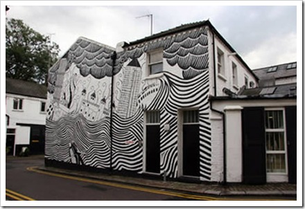 painted-black-and-white-exterior