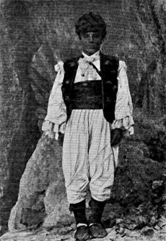 Muško seosko odijelo