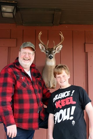 Dad and Angus and the Mount