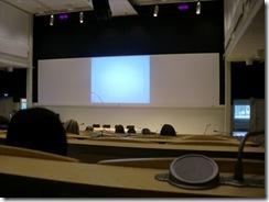 I föreläsningssalen