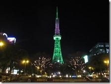 Der Fernsehturm in Nagoya