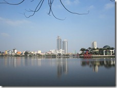 A big lake in Hanoi