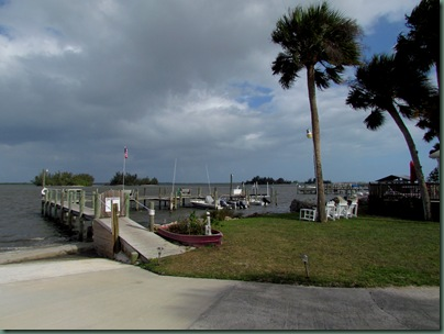 boat ramp at Pelican Landing campground off hwy 1 on intercoastal