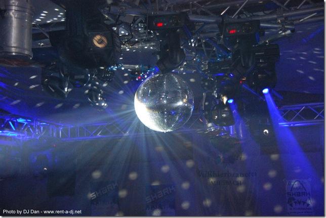 Spiegelkugel-Mirrorball