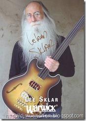 Lee-Sklea-Autogrammkarte