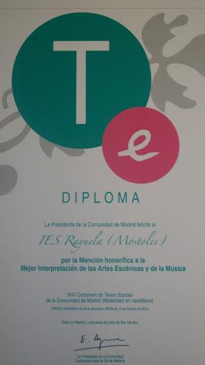 Diploma recibido