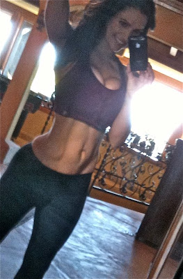 Denise Milani Working Out