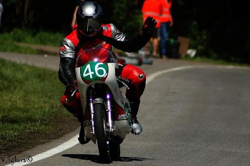 Klasik #46 jako Valentino Rossi