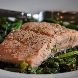 Salmon And Mustard Greens Recipes