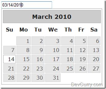 jQuery UI DatePicker Select Date