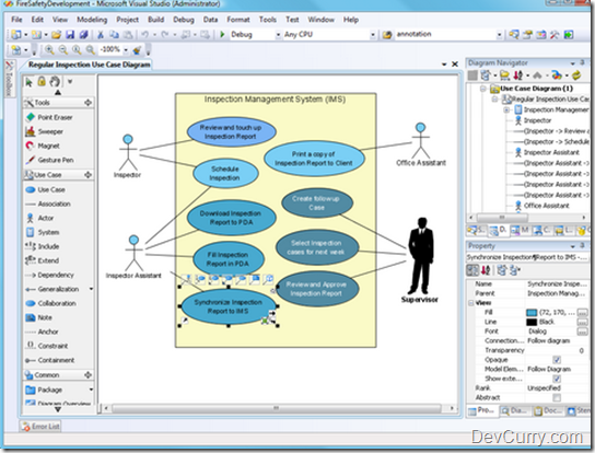Free open source uml tools t4 editor plus uml modeling tools for visual studio 20082010 quickly write your own code generator via t4 text templates files with intelli sense ccuart Image collections
