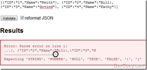 Valid JSON Tool