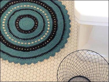 Julie Reeds Crochet Bath Rug