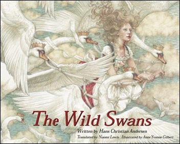 "bookcover ""the wild swans"""