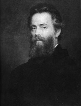 Portret of Herman Melville