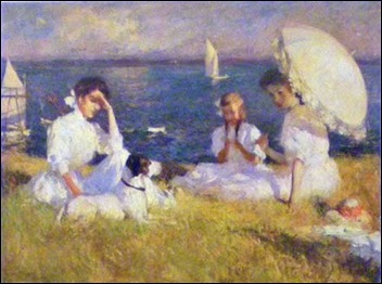 Summer-Afternoon frank weston benson