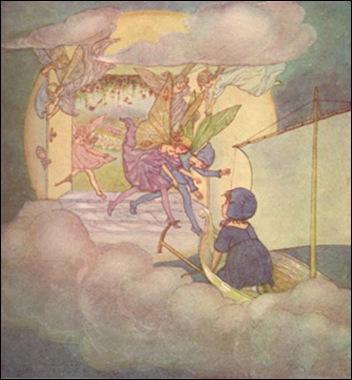 sometimes by Illustrator  Hilda T. Miller