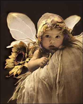vintage baby fairy by dorothy wallace