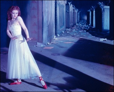 from the movie 'The Red Shoes' 1948 with Moira Shearer