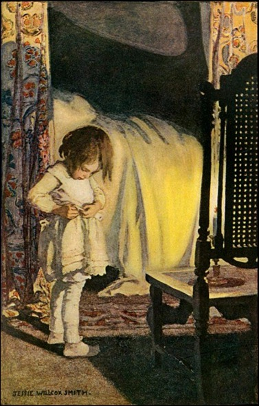 bedtime jessie-willcox-smith