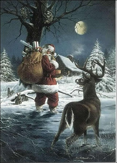 santa-deer