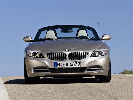 BMW Z4 Roadster Front View
