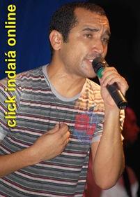 Jorge, vocalista do Grupo Sem Tempo (Crédito: Fábio Alexandre)