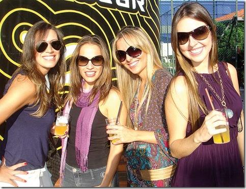 Ligia Contursi, Milena Haddadi, Daniela Barbosa e Lili Rossi