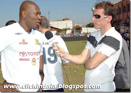 Fred Rincón concede entrevista a Alex (Crédito: Fábio Alexandre)
