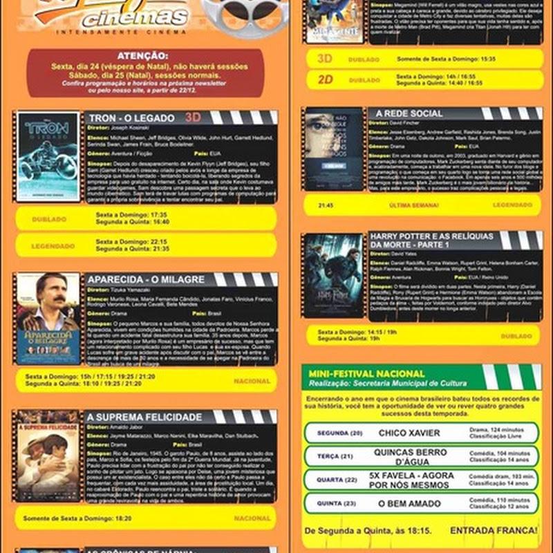 Programe-se: Topázio Cinemas