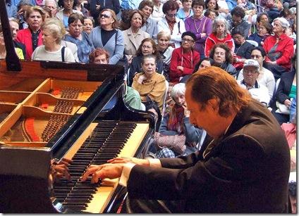 Arthur Moreira Lima em apresentação (Crédito: Divulgação)