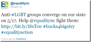 Twitter - @Equality NC- Anti-#LGBT groups converge ..._1304729418801
