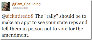 Twitter - @Pam Spaulding- @sickntired08 The -rally- ..._1304729553293
