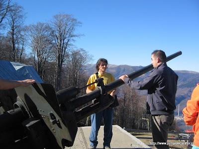 Inspectia tehnica a tunului de la Straja