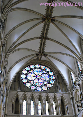 The Dean's Eye - Lincoln Cathedral